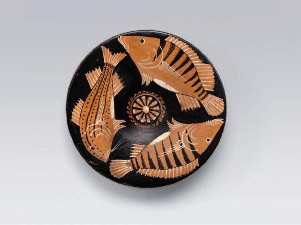 piatto pesci magna grecia